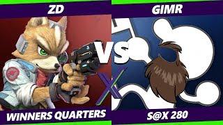 Smash Ultimate Tournament - Demise | ZD (Fox) Vs. VGBC | GimR (Game and Watch) - S@X 280 SSBU WQ
