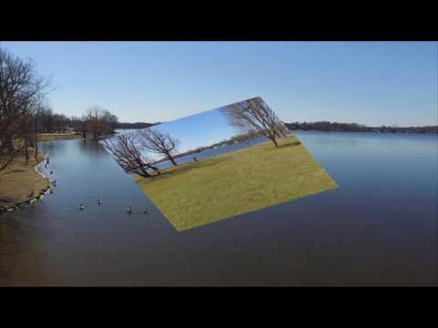 Vandercook lake 2017 Drone flight!