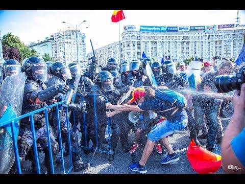 Protestul din Piata Victoriei de sambata, 11 AUGUST 2018