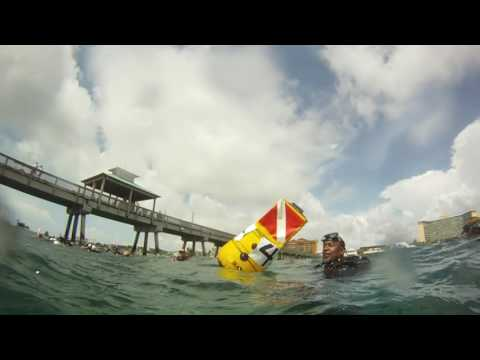 PIER CLEAN UP 2017/GUINESS WORLD RECORD, LONGEST HUMAN CHAIN UNDERWATER