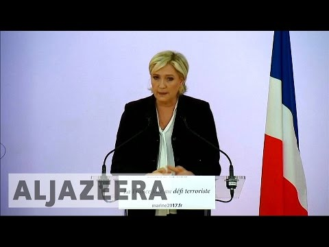 French elections: Marine Le Pen seeks anti-immigrant voters