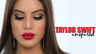 taylor swift inspired look   celebrity makeup how to and tutorial   camila coelho