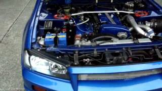 1991 Nissan Skyline GTR RB26dett, twin turbo, R34 GTR Conversion kit!!! Highly Modified 470HP