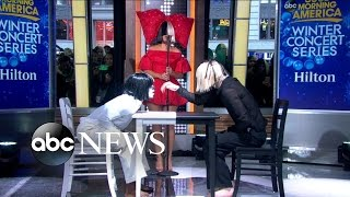 Sia Performs 39Reaper39 Live on 39GMA39
