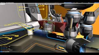 как построить маленький самолёт (леталку) в Robocraft