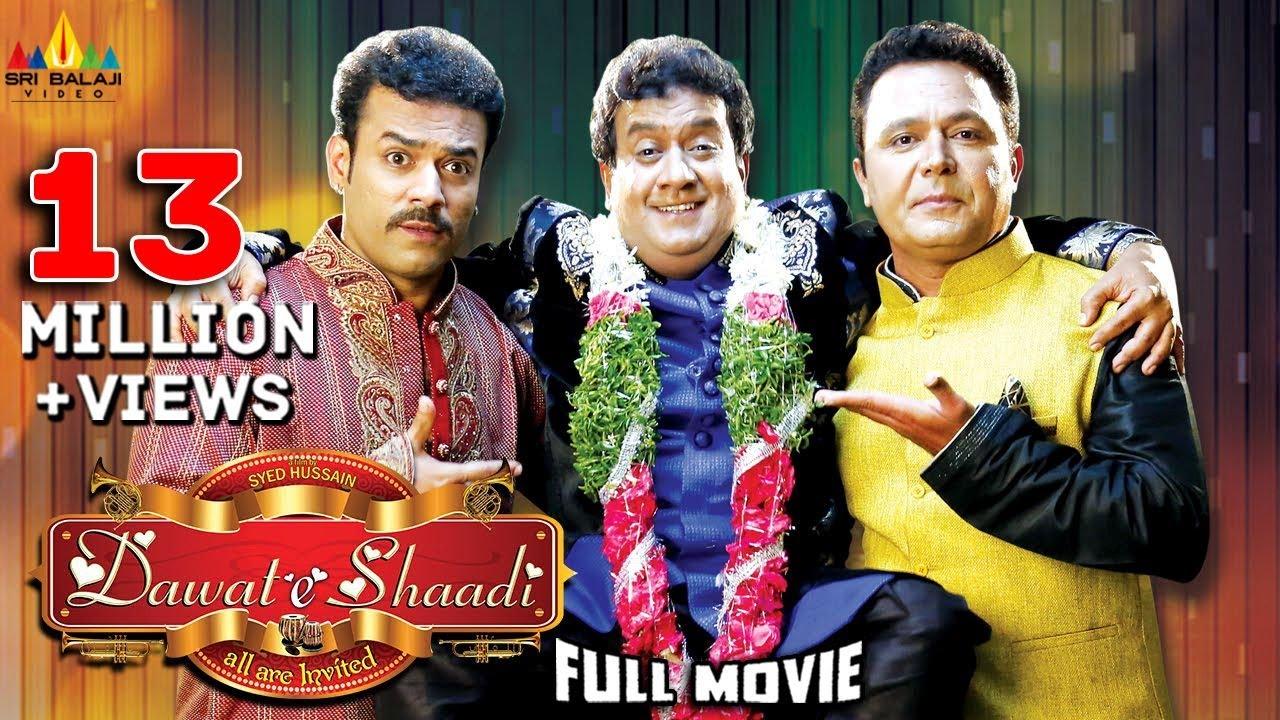 Download Dawat E Shaadi Hyderabadi Full Movie   Gullu Dada, Saleem Pheku, Aziz Naser   Sri Balaji Video