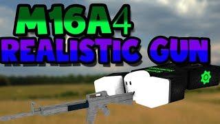 Roblox script Showcase Episode # 785/M16A4 arma realista