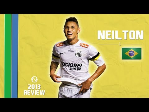NEILTON | Goals, Skills, Assists | Santos | 2013 (HD)