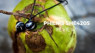 philips SHE4205/Flite Earphones Review - Hyprlite?!?