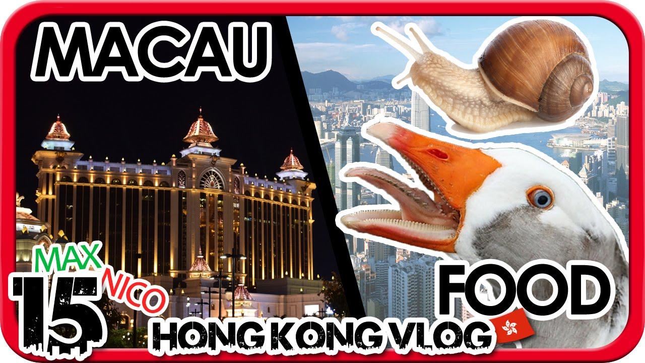 Las Vegas Des Ostens Macau China Auslandsjahr Hong Kong Vlog