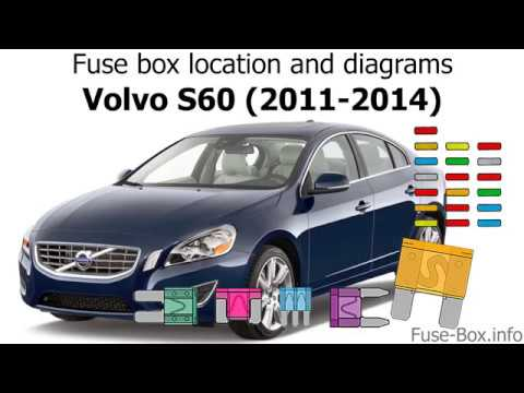 Fuse Box Location And Diagrams Volvo S60 2011 2014 Youtube