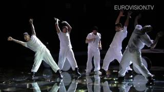 Giorgos Alkaios Friends First Rehearsal Impression At The 2010 Eurovision Song Contest