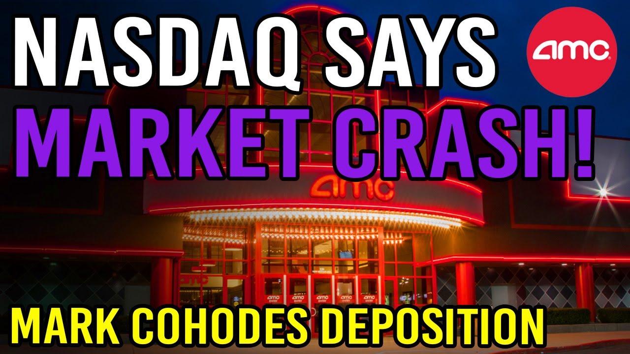 Download NASDAQ SAYS STOCK MARKET WILL CRASH?! 🔥 - AMC Stock Short Squeeze Update