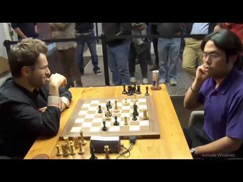 QUEEN GAMBIT ACCEPTED! Hikaru Nakamura vs Levon Aronian || Chess blitz 2017