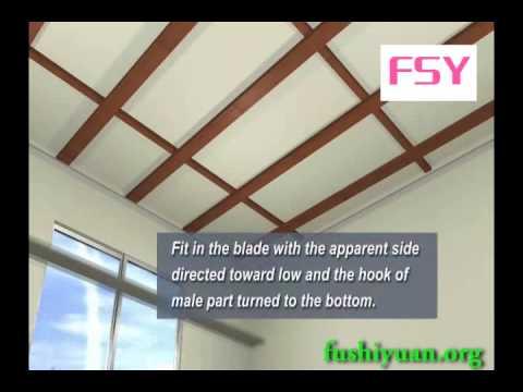 How To Install Pvc Ceiling Tiles Fushiyuan Org