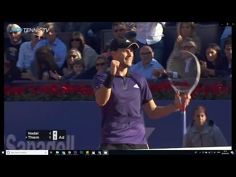 Best Dominic Thiem Shots And Moments From Barcelona Open Win 2019