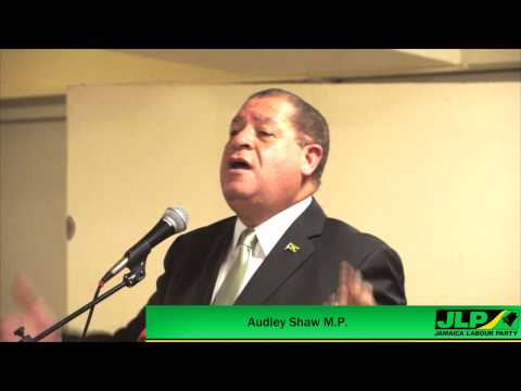Audley Shaw - Solutions To Grow The Jamaican Economy