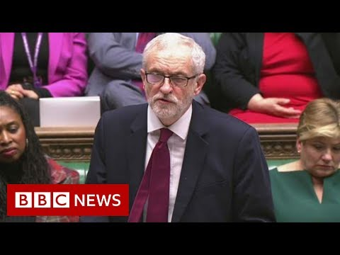 Corbyn says Johnson 'must live up to his promises' - BBC News from YouTube · Duration:  6 minutes 5 seconds