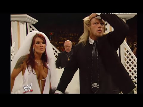 Edge and Lita Raw Wedding has a MONSTROUS ending: Raw June 20, 2005