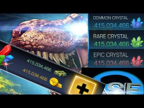 Dino Hunter Mod apk v3.1.1 (Unlimited money and crystals)