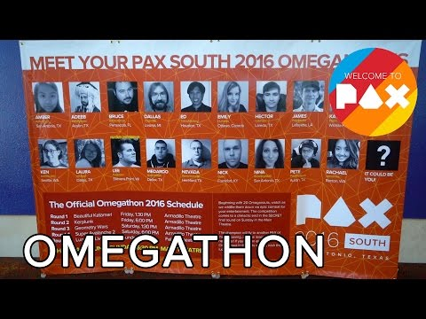 Omegathon - Welcome to PAX! [South 2016]