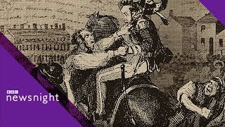 Peterloo Massacre: A turning point in UK history? - BBC Newsnight