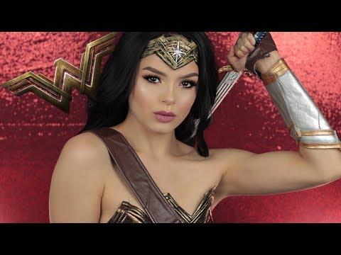 Wonder Woman Transformation | Glam, Gal Gadot inspired makeup tutorial | A1DeLaTorre