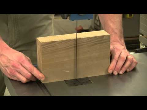 Squaring Up a Band Saw Blade