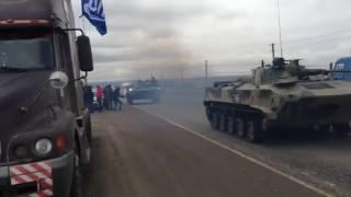 Стачка дальнобойщиков Ставрополь