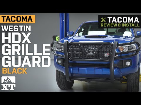 2016-2019 Tacoma Westin HDX Grille Guard Review & Install
