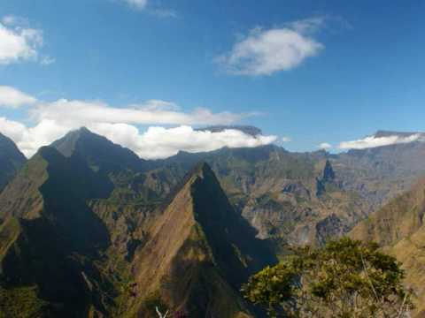 Reunion island in indian ocean.wmv