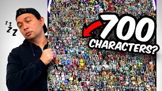 100 HOURS STRAIGHT?| Drawing 700 CHARACTERS??? INSANE ART CHALLENGE!!!