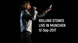 Rolling Stones in Munich No Filter 12-Sep 2017