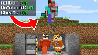 minecraft manhunt vs a TERMINATOR