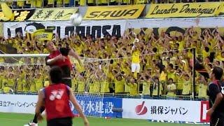 工藤のハットトリックと澤のゴールでレイソルがセレッソ大阪に勝ちました。