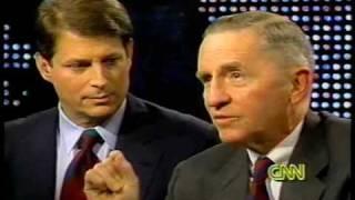 NAFTA: Ross Perot and Al Gore Debate 1993, Part 4 of 8