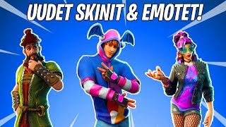 "NEW SECRET SKINS & EMOTET! -Crazy Week 10 Loading Screen! -""Fortnite News"" English"