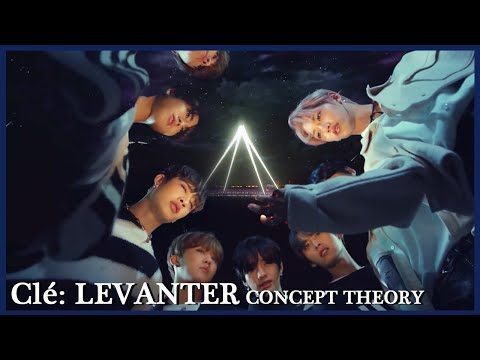 STRAY KIDS Clé: LEVANTER Concept Theory: MAP FOR BROKEN COMPASS And The Journey To Freedom