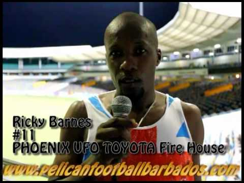 Striker Ricky Barnes Of Firehouse Talks about His Goal and Playing on The Wing