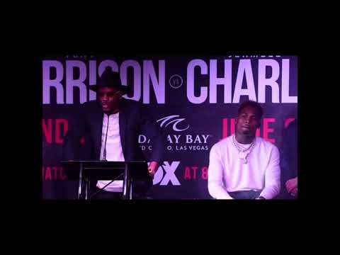 Tony Harrison CURSES and completely DISRESPECTS Jermell Charlo