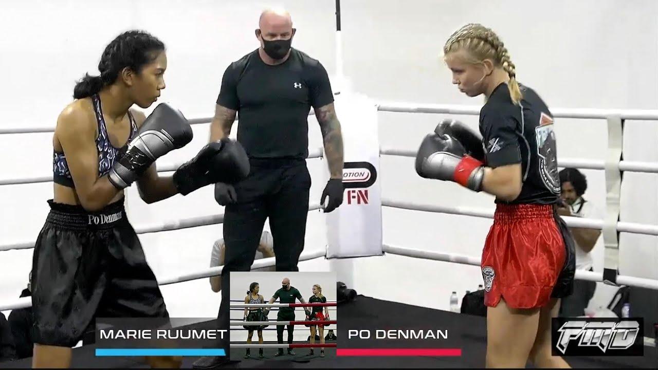 Marie Ruumet vs Po Denman FULL FIGHT Commentary