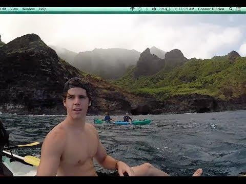 GoPro Na Pali Coast Kayak, Kauai
