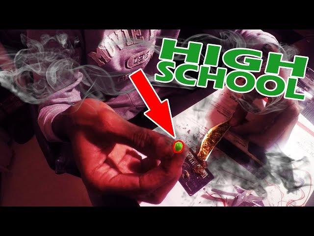 Voorgedraaide Joint uit elkaar halen - Sidney's High School