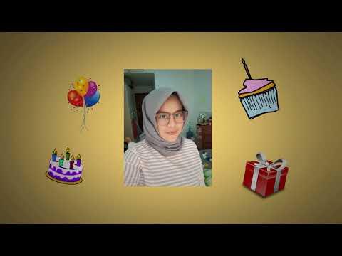 Happy Birthday Afuza Regha Sudibyo