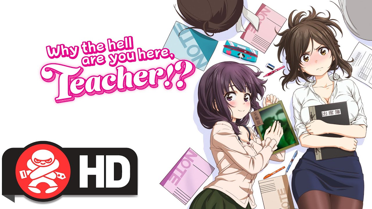 Why the Hell Are You Here, Teacher? Complete Series | JB Hi-Fi