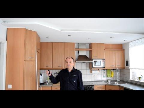 Projekt Küche renovieren Decke umgestalten Teil 3 - YouTube