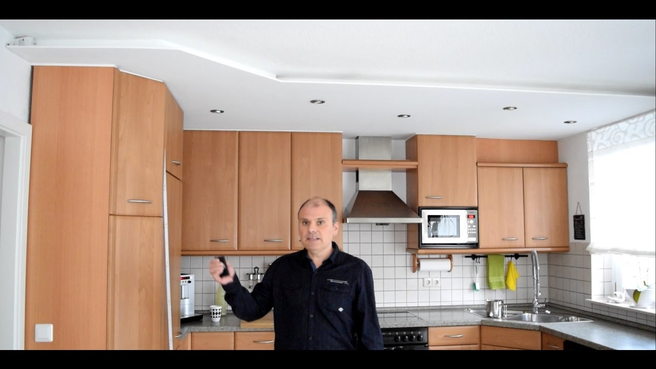 Projekt Küche Renovieren Decke Umgestalten Teil 3   YouTube