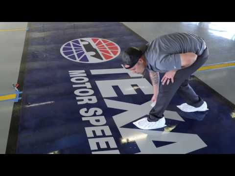 SPARTACOTE® concrete coating systems give new meaning at Texas Motor Speedway's garages