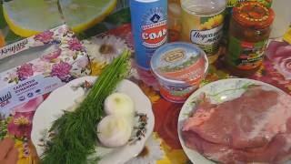 свинина в сметанном соусе . Рецепт от шеф повара Максима Григорьева
