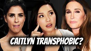 LEFTISTS SLAM Caitlyn Jenner Governor California Run - Sarah Silverman Says NOT WOKE ENOUGH